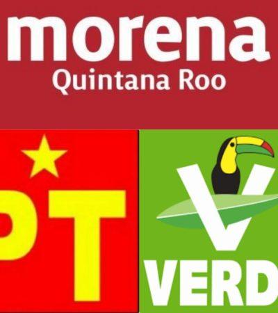 Insisten morenistas en que se revisen candidaturas porque alianza con el PVEM y PT no otorga beneficios