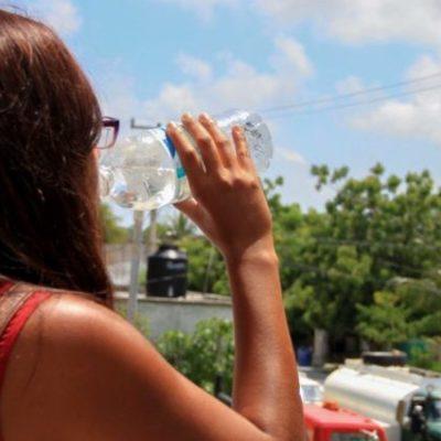 Continúa aumentando las altas temperaturas en la Península de Yucatán