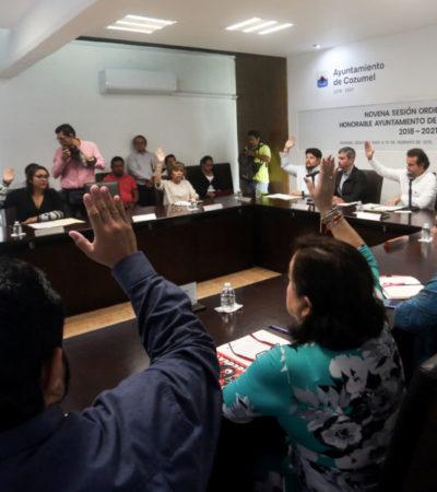 Aprueba Cabildo cozumeleñoPrograma de Inversión Anual 2019