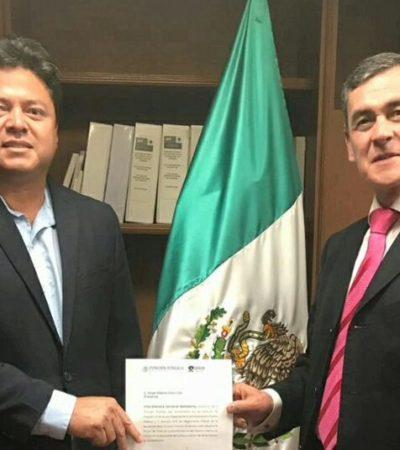 Designan al quintanarroense Jorge Alberto Chan Cob como Auditor Interno de la Secretaría Federal de Turismo