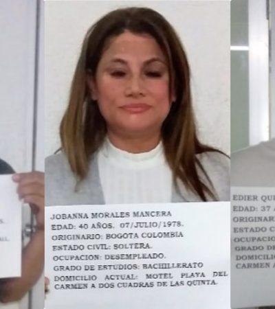 Balconean en redes a integrantes de una banda de presuntos ladrones colombianos que fueron dejados en libertad en Cancún | VIDEO