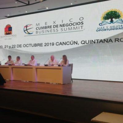 Anuncian la Cumbre de Negocios 'Business Summit' en Cancún, donde participarán alrededor de mil personas