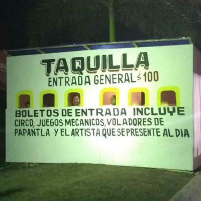 """ES UN EXPERIMENTO"": Reclaman integrantes del Cabildo a Laura Beristain por privatizar la feria del Carnaval; asegura Alcaldesa que es un proyecto experimental"