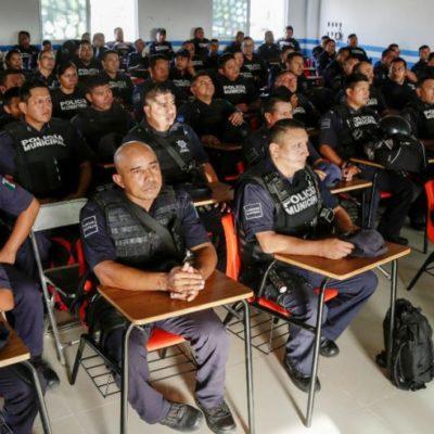 CONSIENTE GOBIERNO FEDERAL A MUNICIPIOS MORENISTAS DE QR: De los 11 municipios, únicamente Solidaridad, OPB y BJ son beneficiados con el subsidio Fortaseg este año