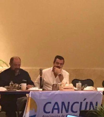 Se reúnen hoteleros con Darío Flota para definir acciones de promoción turística del Caribe