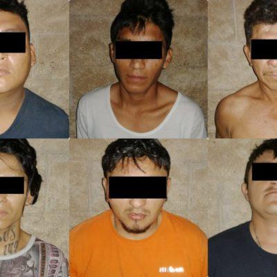CONFIRMAN CAPTURA DE SIETE TRAS EJECUCIÓN EN PLAYA: Los presuntos implicados en balacera en la '28 de Julio' fueron detenidos con armas y drogas