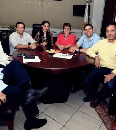 FORMAN ALIANZA INTERPENINSULAR:Inicia intención de hermanamiento entre Playa del Carmen, Ciudad de Campeche y Mérida