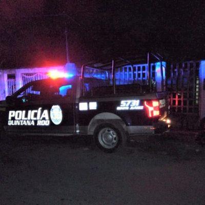 Descubren taller que se dedicaba a desarticular autos robados para vender las piezas, en la Región 90 de Cancún
