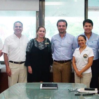 Retoma Pedro Joaquín vínculos de colaboración con Grupo Xcaret para la organización de la Travesía Sagrada Maya