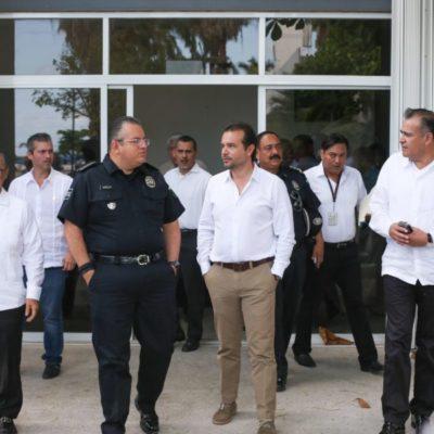 Aunque disminuyen delitos en Cozumel, asegura Pedro Joaquín que no bajarán la guardia