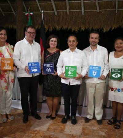"""""""Cozumel está comprometido con la protección y mejoramiento ambiental"""", asegura Pedro Joaquín"""