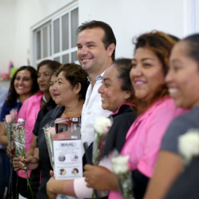 """""""Desde el Ayuntamiento de Cozumel trabajamos para impulsar la equidad de género en el municipio"""", asegura Pedro Joaquín, en el Día Internacional de la Mujer"""