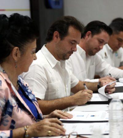 Pedro Joaquín firma convenio de colaboración con universidades y preparatorias para laformación laboral de futuros profesionistas