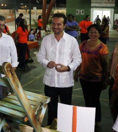 Promueve Pedro Joaquín programas que impulsen la sana convivencia de los cozumeleños