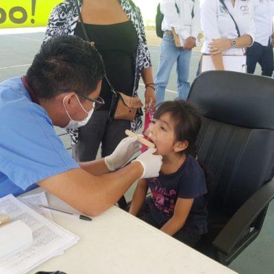 Gobierno de Puerto Morelos lleva la Brigada de Bienestar y Calidad de Vida a Leona Vicario