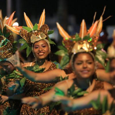 Más de 130 mil personas disfrutaron del Carnaval 'La fiesta que nos mueve' en Cozumel