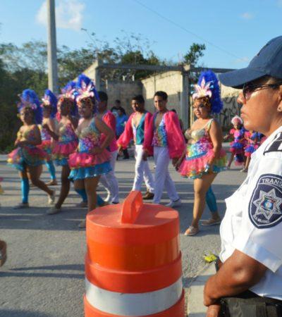 Garantizan seguridad para asistentes a Carnaval de Isla Mujeres
