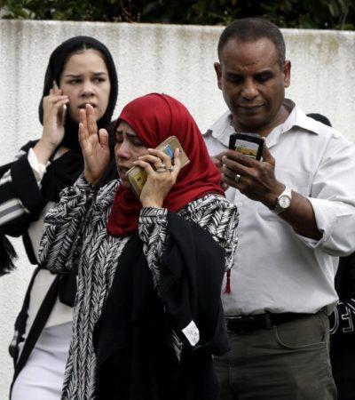 ATAQUE TERRORISTA DE EXTREMISTAS EN NUEVA ZELANDA: Al menos 49 muertos en tiroteos contra mezquitas musulmanas en la ciudad de Christchurch