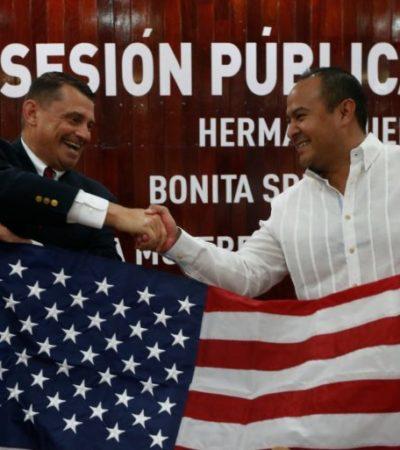 Isla Mujeres se hermana con Bonita Springs, Florida, tras un año de trabajar en colaboración