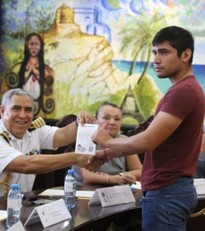 Gobierno de Isla Mujeres exhorta a jóvenes que cumplen 18 años a tramitar su cartilla del Servicio Militar clase 2001