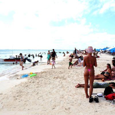 Reconocen a Playa Norte como una de las 10 mejores del mundo en 2019
