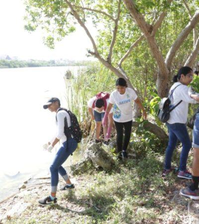 Gobierno de Isla Mujeres promueve el cuidado del agua para mantener una isla verde