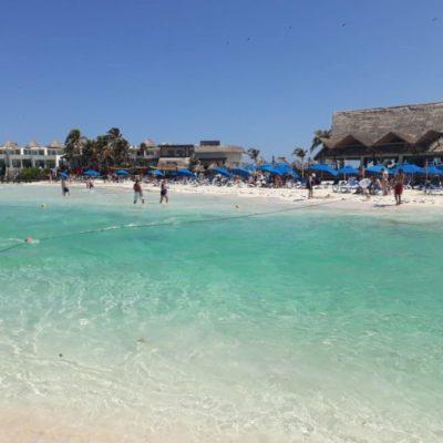 Con instalación de boyado en playas de Isla Mujeres, autoridades redoblan esfuerzos en beneficio dehabitantes y turistas