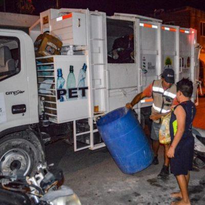 Autoridades de Isla Mujeres fomentan la separación y el buen manejo de los residuos sólidos