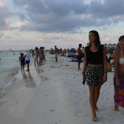 Isla Mujeres se mantiene como uno de los destinos preferidos gracias a la limpieza y seguridad en las playas