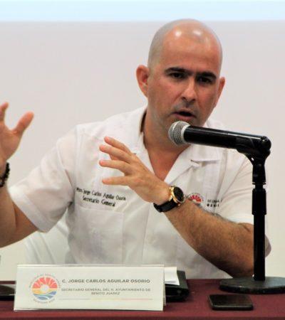 Trágico, descalificar a la policía auxiliar por cuestión electoral, dice Jorge Aguilar
