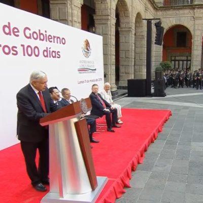 Asegura AMLO que en abril se publicarán las convocatorias para el inicio del Tren Maya