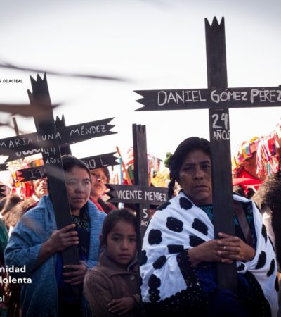Exigen 'Las Abejas' que AMLO pida perdón por las víctimas de Acteal