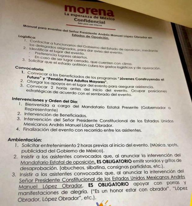 Acusa Polevnsky al PAN de crear el 'manual de abucheos' atribuido a Morena y deslinda al PRI