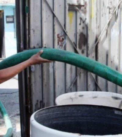 A PUNTO DEL COLAPSO: Omiten casi 40 mil usuarios pagar el servicio de agua entubada en Campeche