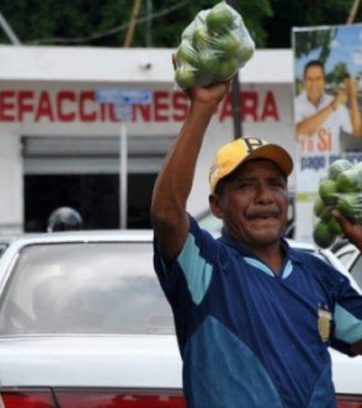 Carecen de permiso municipal casi 200 ambulantes en el centro de Mérida