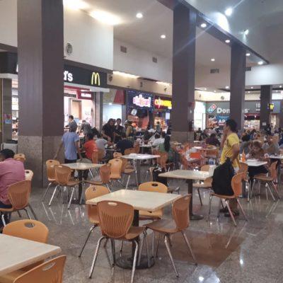 Plazas comerciales a la espera de la Policía Auxiliar