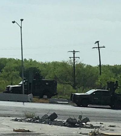 VIDEO | Enfrentamiento entre grupo armado y Ejército en Tamaulipas deja al menos 6 muertos