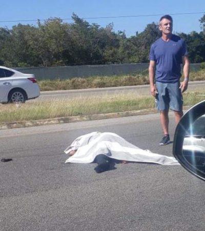 Fallece trabajadora del hotel Hard Rock arrollada en carretera, en Puerto Aventuras