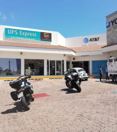 Asaltan tienda de celulares en Playa del Carmen