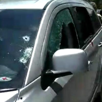 Se cruza gobernador de Veracruz con la muerte a su paso por carretera Papantla-Poza Rica