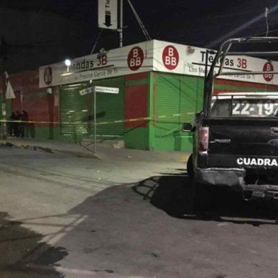 Matan a cajera en tercer asalto perpetrado por el mismo sujeto a una tienda en Ecatepec