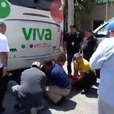 Atropellan a niña en carretera en tramo Playa-Puerto Morelos