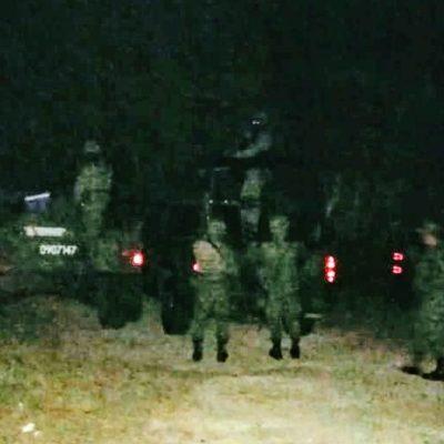 CAE AVIONETA EN OPB: Reportan un muerto y un herido en accidente de aeronave que supuestamente transportaba droga en el sur de QR