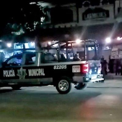 ATAQUE EN 'LAS MICHES': Hieren a balazos a una pareja en un bar de Playa del Carmen