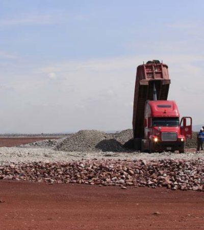 Proponen utilizar ferrocarril de lo que sería el NAICM para mover basalto y materiales a Tren Maya y Santa Lucía