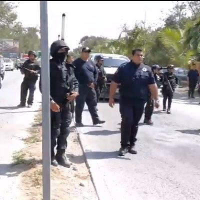 Tras desalojo en Tulum, autoridades se dicen abiertas al dialogo, pero advierten que no se tolerará alteración de actividades económicas y civiles