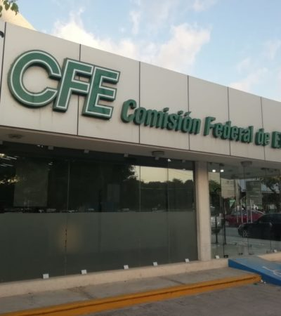 Ciudadanos denuncian atropellos de CFE en Cancún
