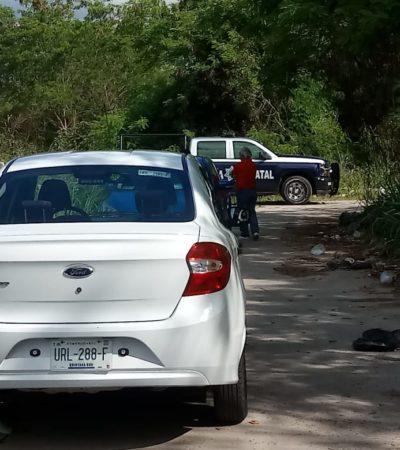 INVESTIGAN PRESUNTA EJECUCIÓN EN LA CAPITAL: Hallan cuerpo en lote baldío en Chetumal