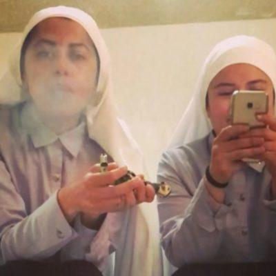 Se hacen llamar 'monjas cannábicas' y quieren terminar con 'tus estigmas retrógrados'