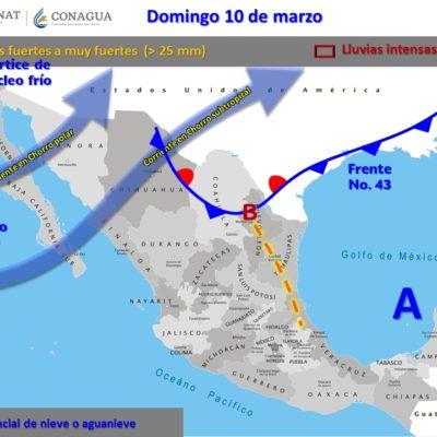 Domingo caluroso con lluvias aisladas, tiempo para Quintana Roo